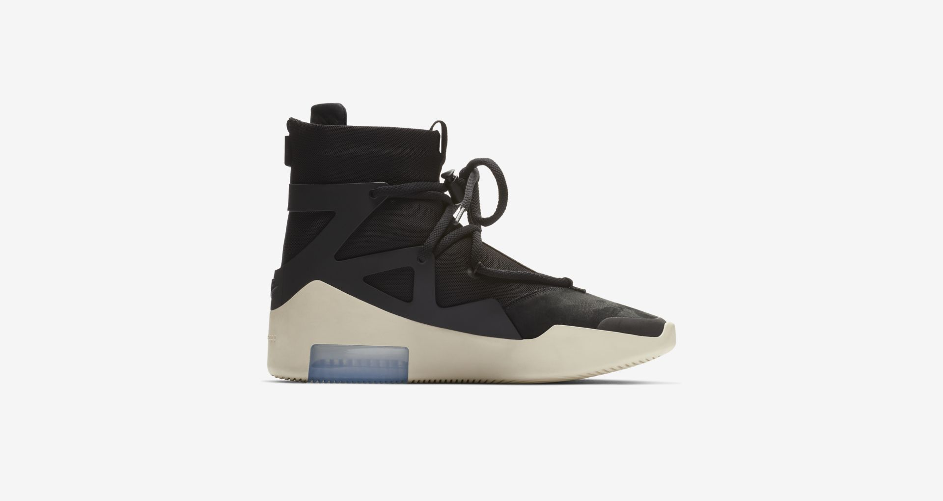 AR4237 001 Nike Air Fear Of God 1 Black 3
