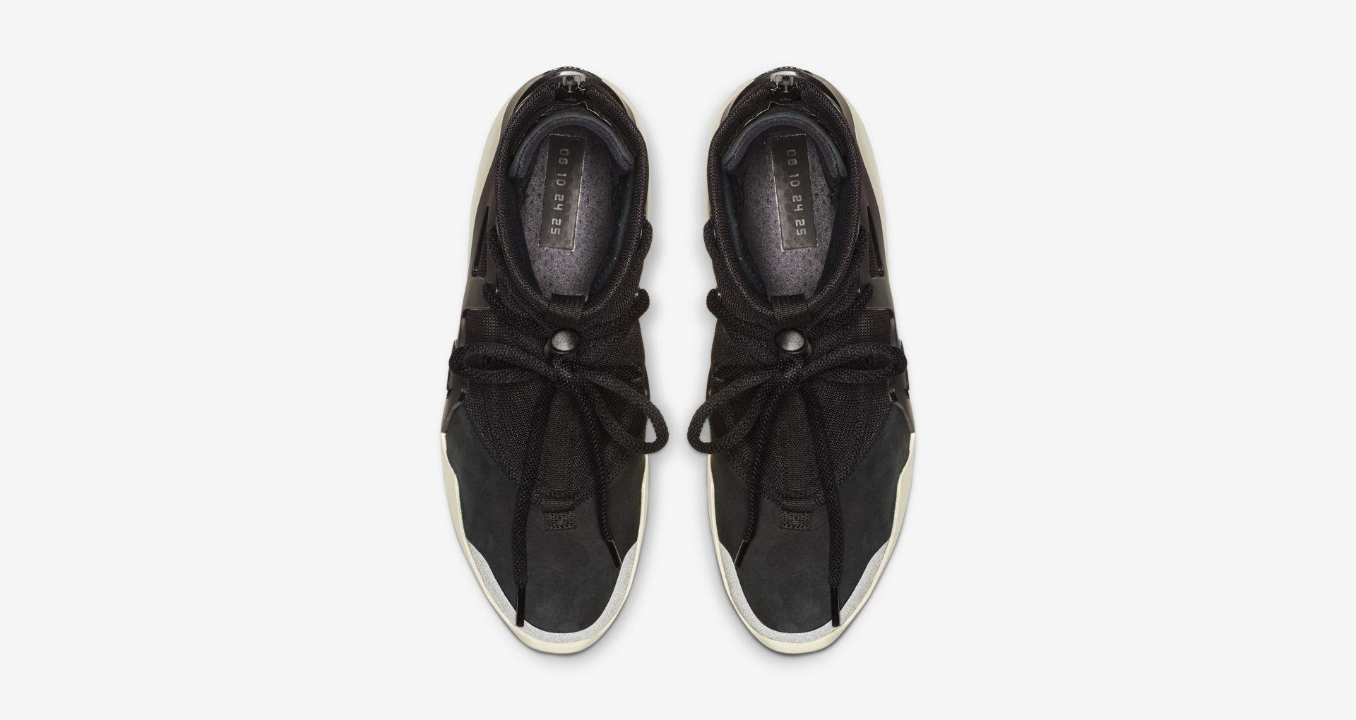 AR4237 001 Nike Air Fear Of God 1 Black 4