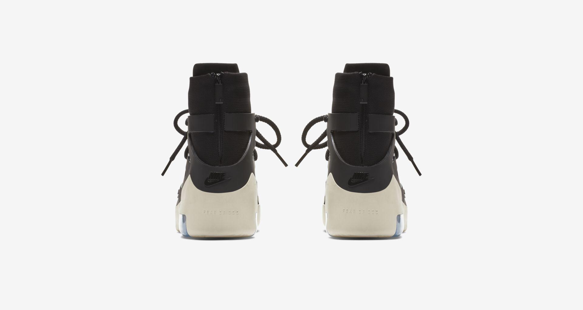 AR4237 001 Nike Air Fear Of God 1 Black 5
