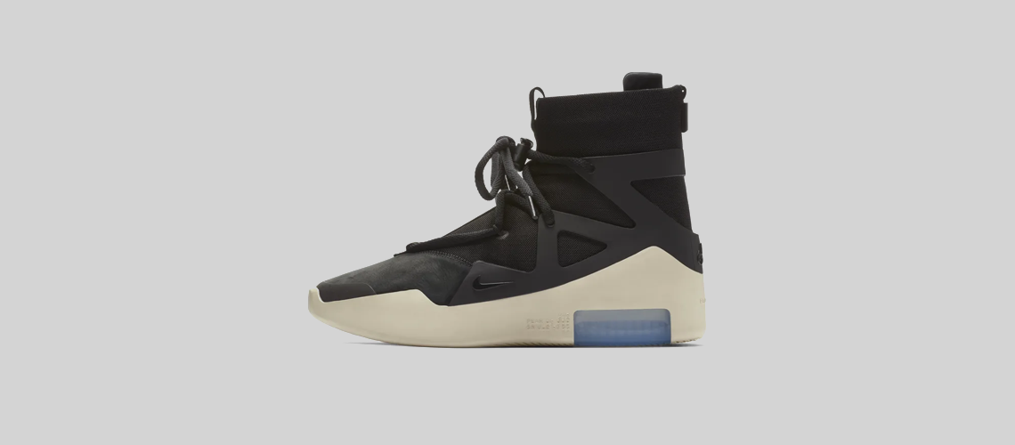 AR4237 001 Nike Air Fear Of God 1 Black