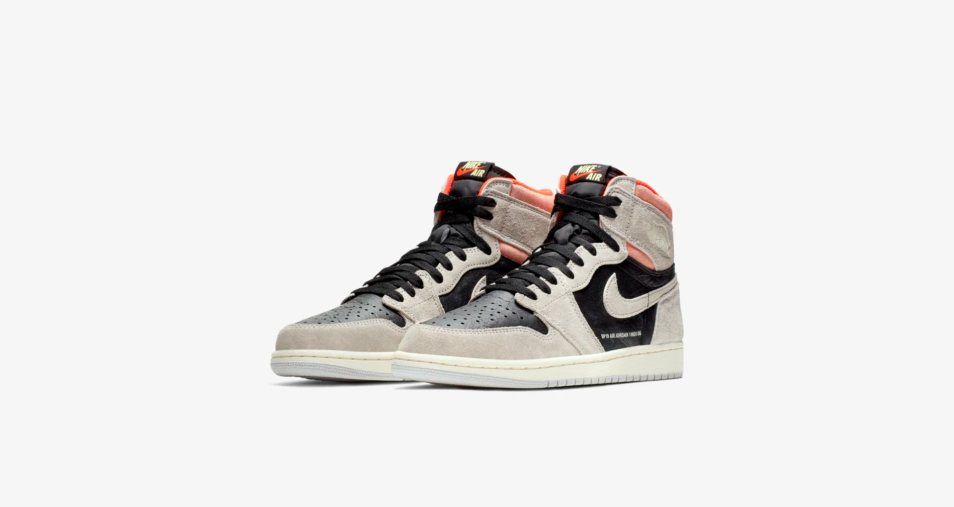 555088 018 Air Jordan 1 High OG Neutral Grey 5
