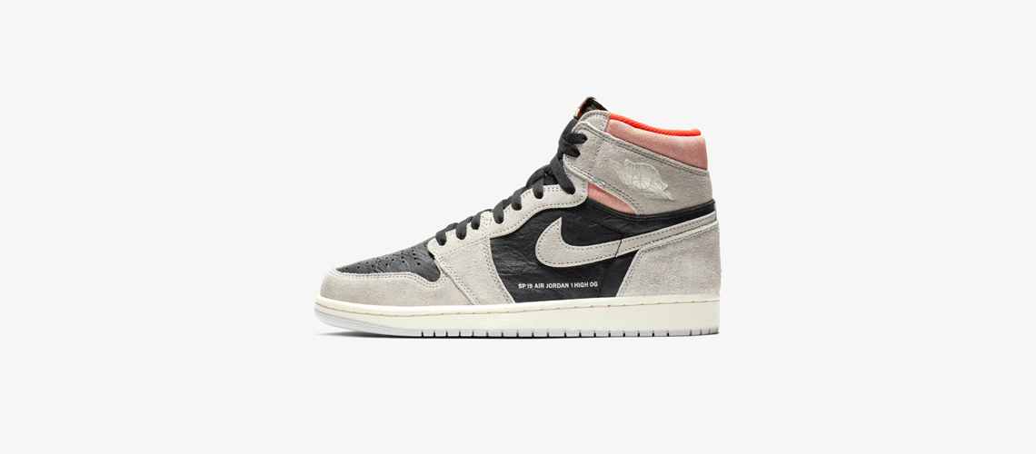555088 018 Air Jordan 1 High OG Neutral Grey