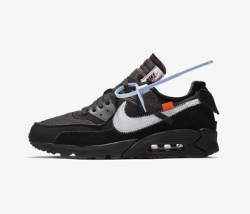 AA7293 001 Off White x Nike Air Max 90 Black 350x300
