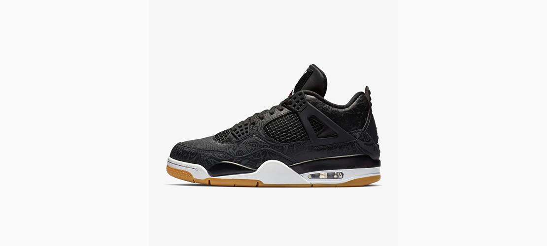 CI1184 001 Air Jordan 4 Black Laser 1110x500