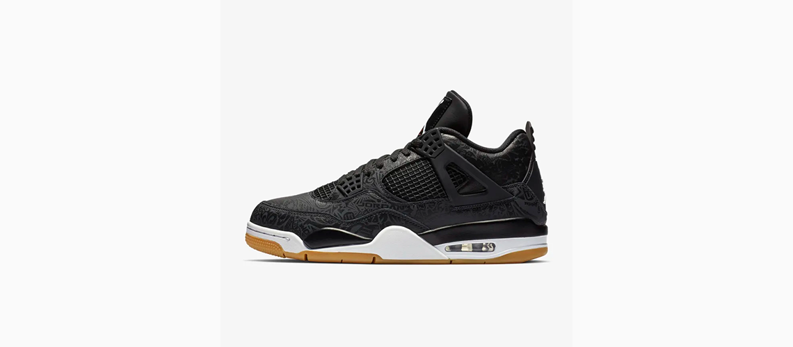 CI1184 001 Air Jordan 4 Black Laser