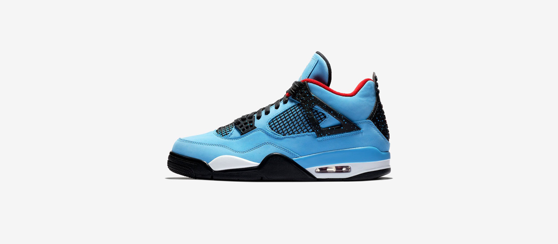 308497 406 Travis Scott x Air Jordan 4 Houston Oilers