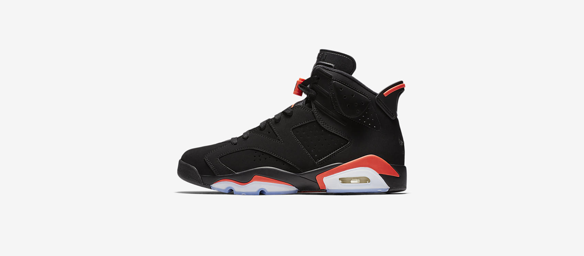 384664 060 Air Jordan 6 Retro Black Infrared OG
