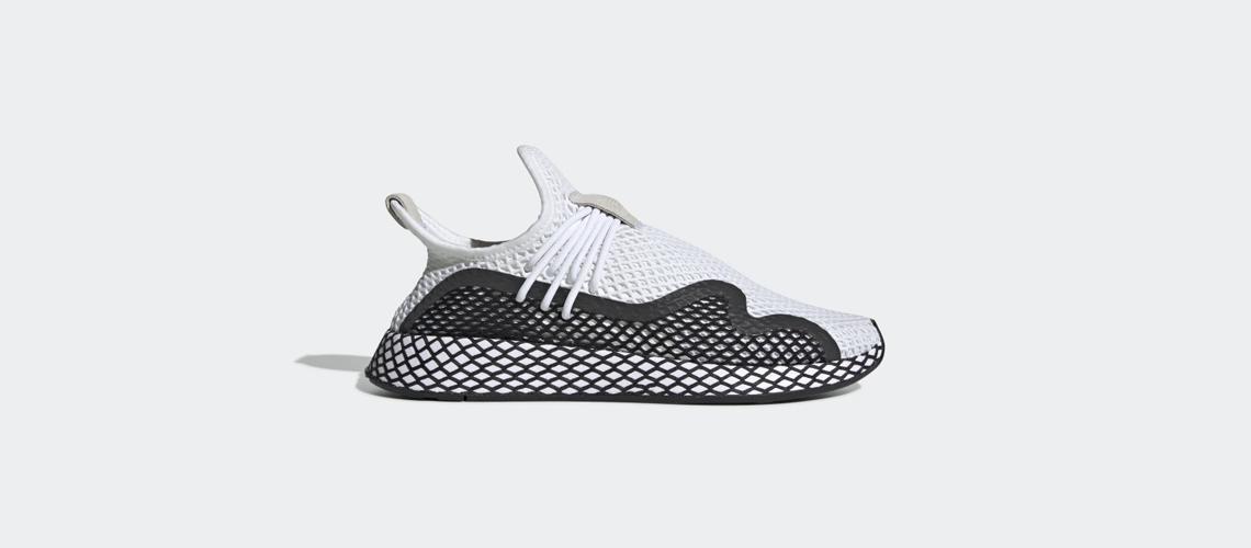 BD7874 adidas Deerupt S White