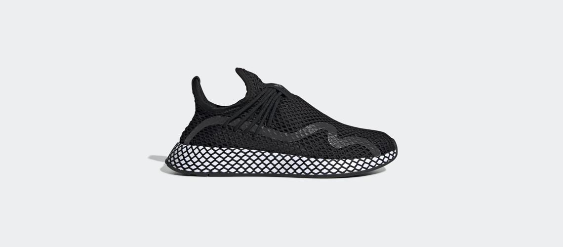 BD7879 adidas Deerupt S Black