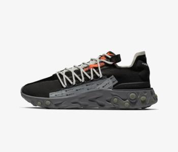 Nike React Runner WR ISPA Black 350x300