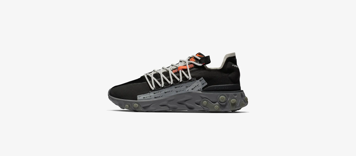 Nike React Runner WR ISPA Black