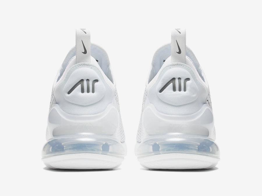 AQ9164 101 Nike Air Max 270 Pure Platinum 5