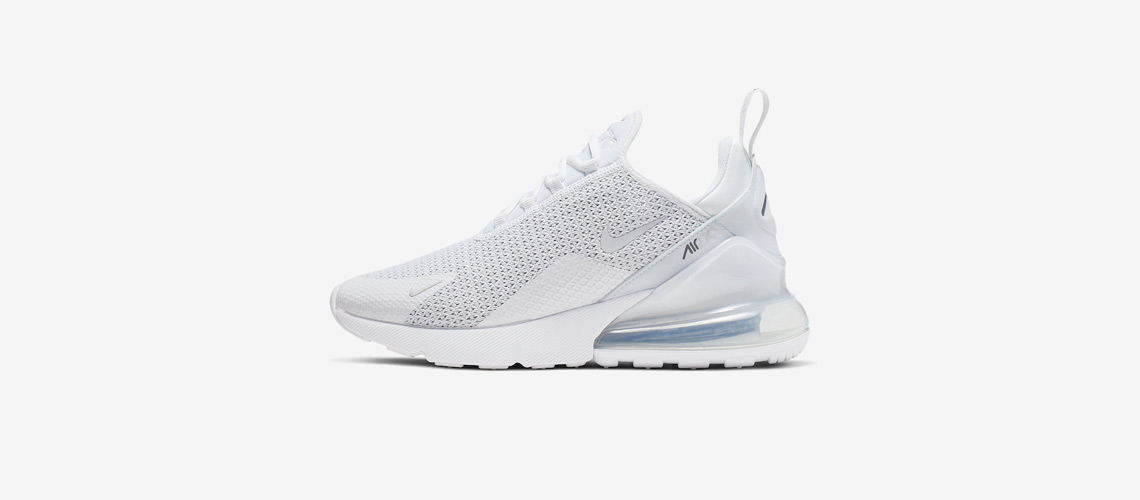 AQ9164 101 Nike Air Max 270 Pure Platinum