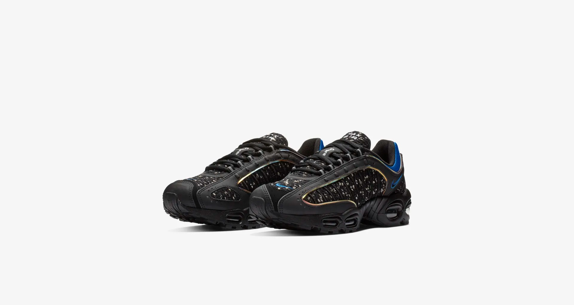 AT3854 001 Supreme x Nike Air Max Tailwind IV Black 5