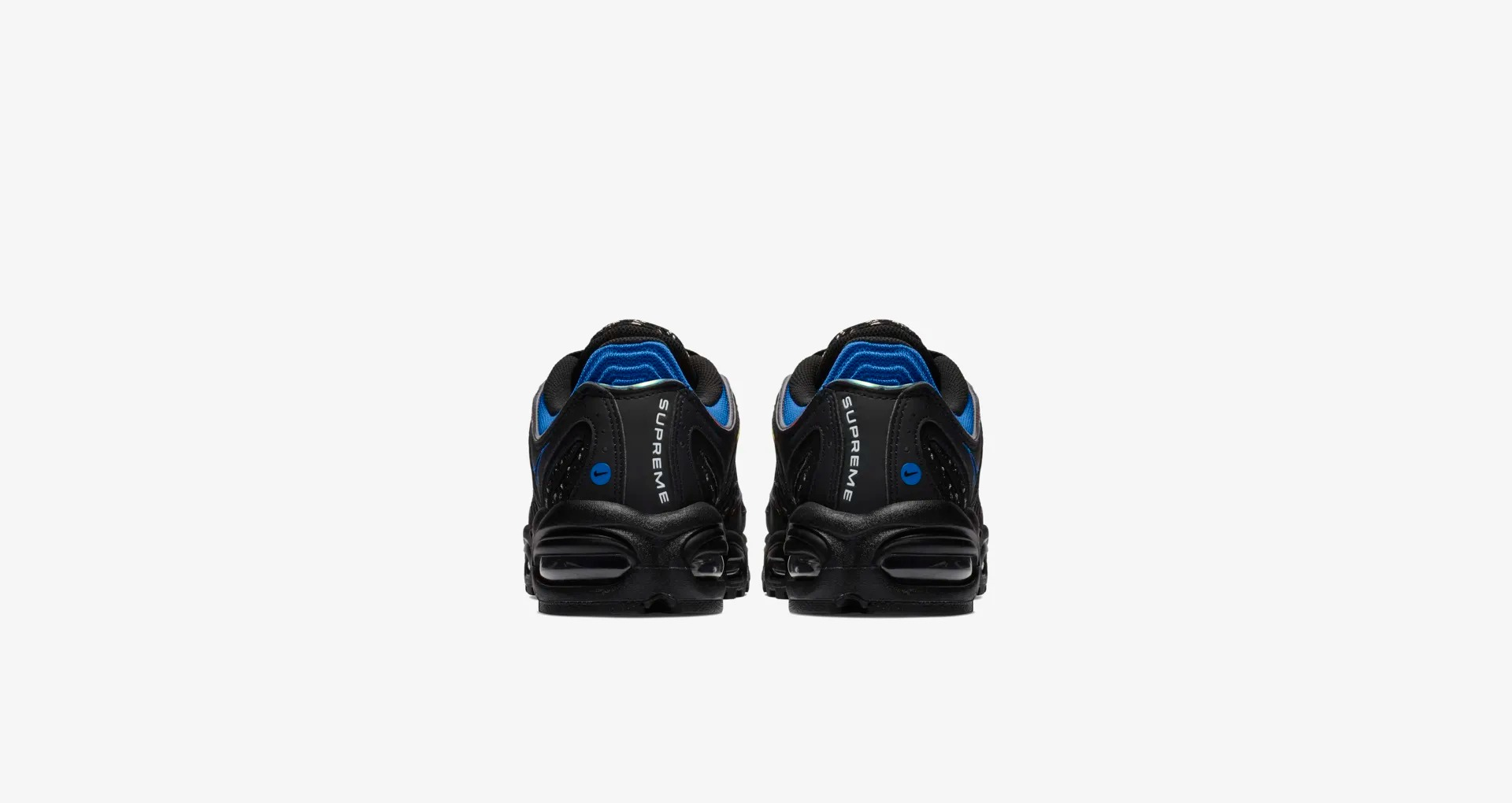 AT3854 001 Supreme x Nike Air Max Tailwind IV Black 6