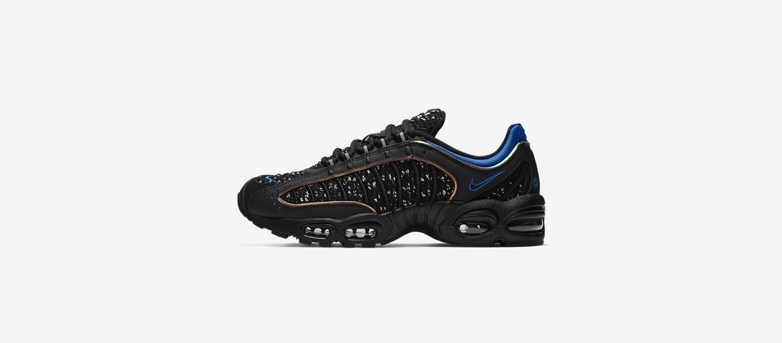 AT3854 001 Supreme x Nike Air Max Tailwind IV Black