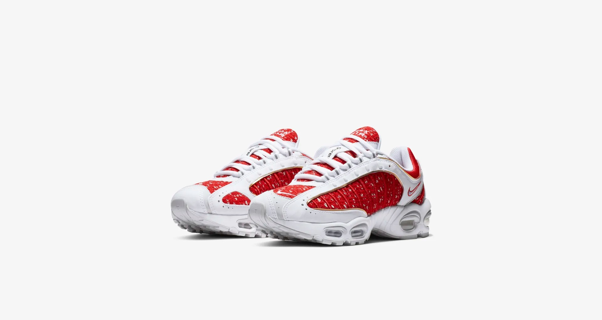AT3854 100 Supreme x Nike Air Max Tailwind IV White 1