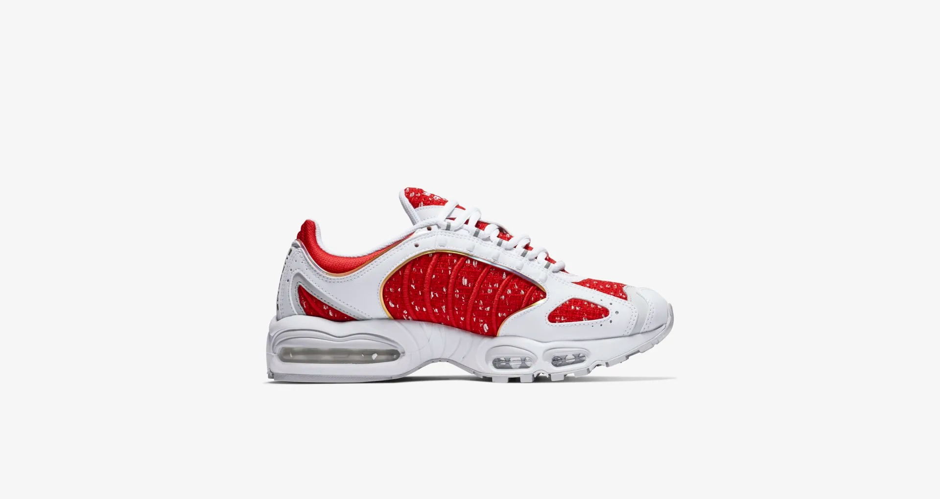 AT3854 100 Supreme x Nike Air Max Tailwind IV White 3