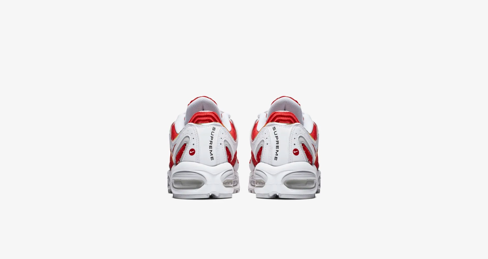 AT3854 100 Supreme x Nike Air Max Tailwind IV White 5