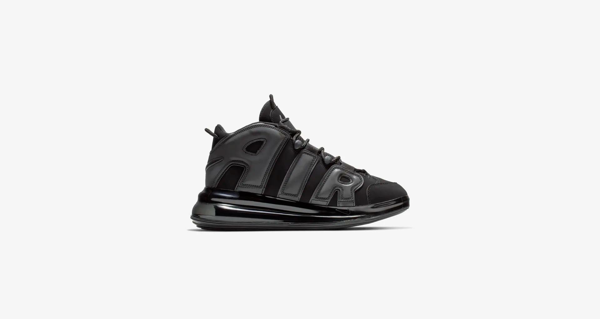 BQ7668 001 Nike Air More Uptempo 720 Black 3