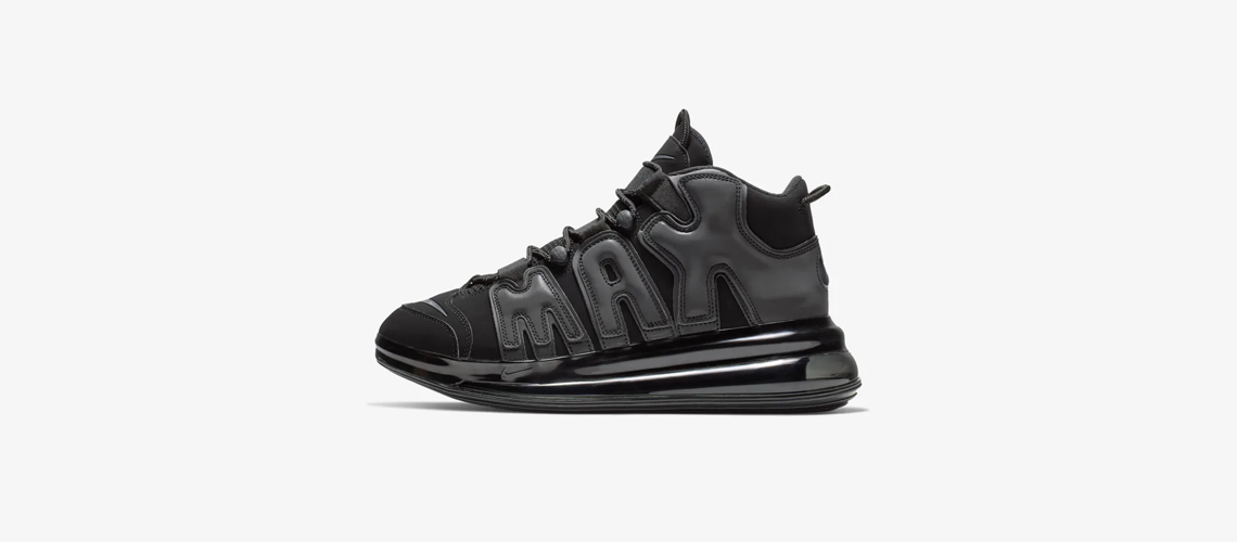 BQ7668 001 Nike Air More Uptempo 720 Black