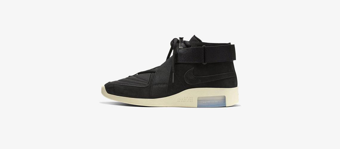 Fear of God x Nike Air 1 Black 1140x500