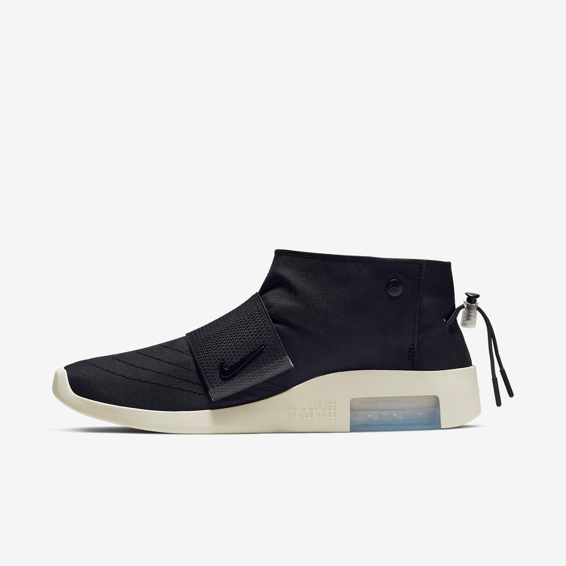 Fear of God x Nike Moccasin Black 1