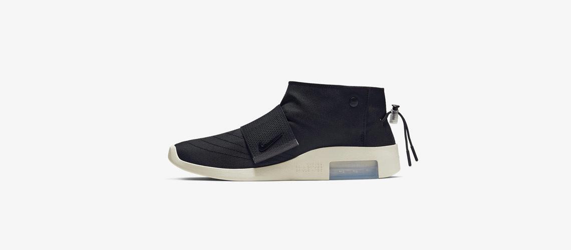 Fear of God x Nike Moccasin Black 1140x500