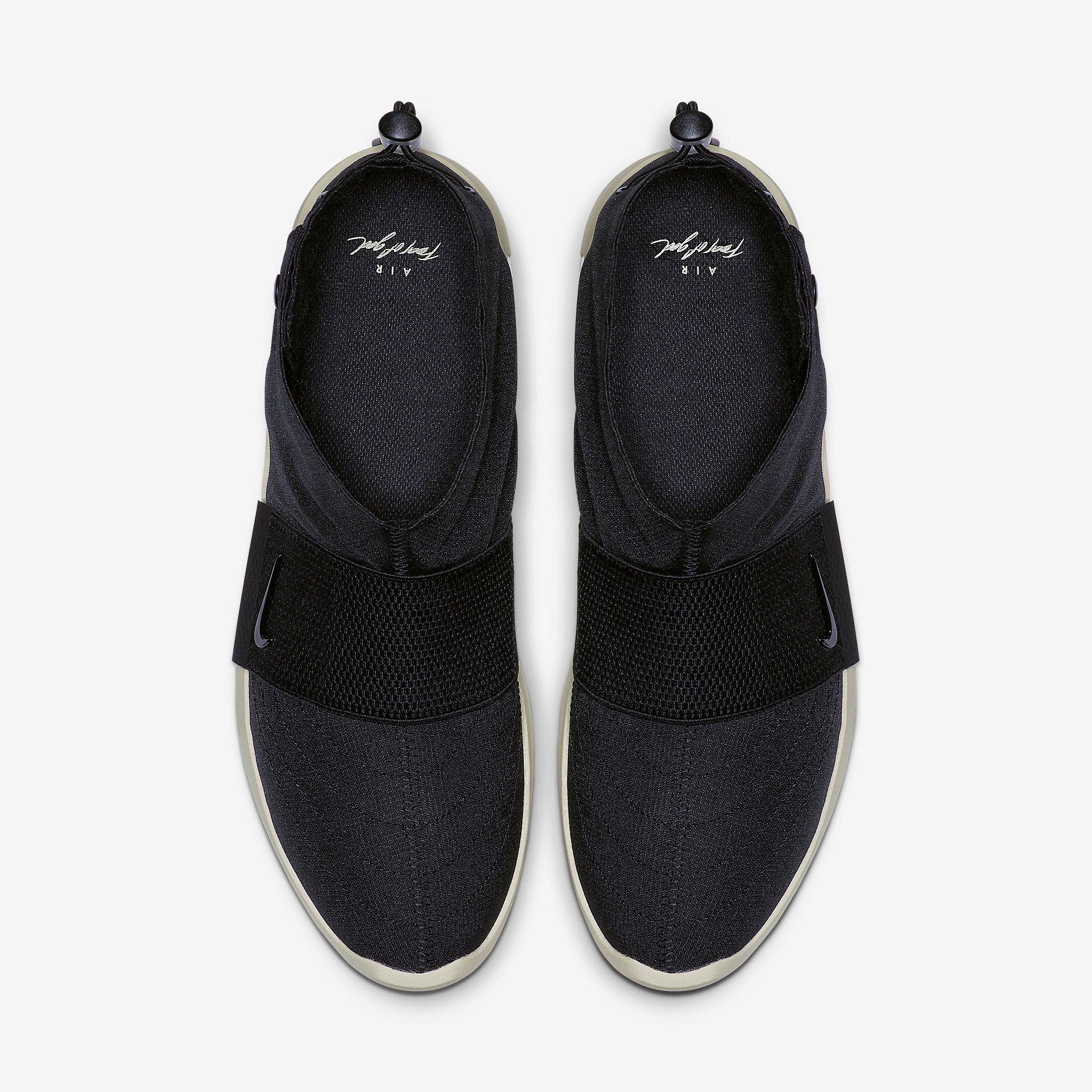 Fear of God x Nike Moccasin Black 2