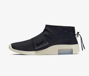 Fear of God x Nike Moccasin Black 350x300