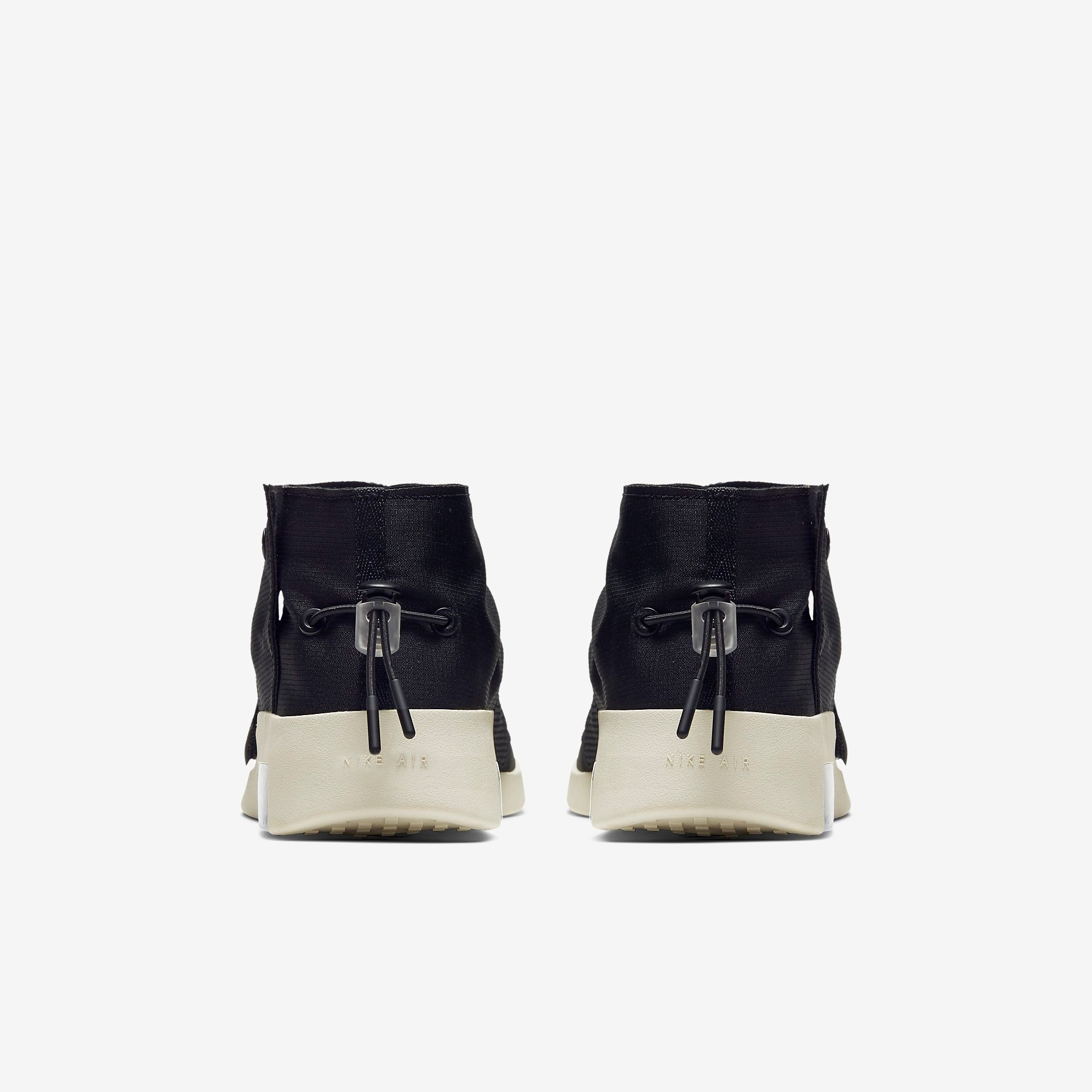 Fear of God x Nike Moccasin Black 4