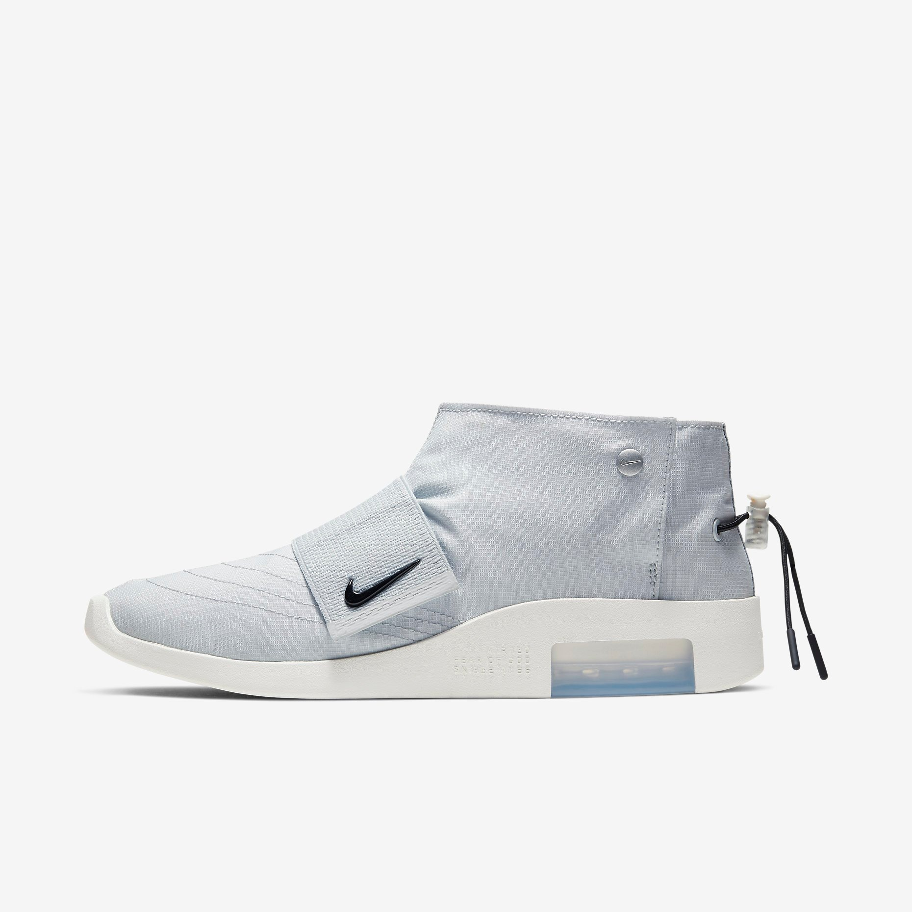 Fear of God x Nike Moccasin Pure Platinum 1