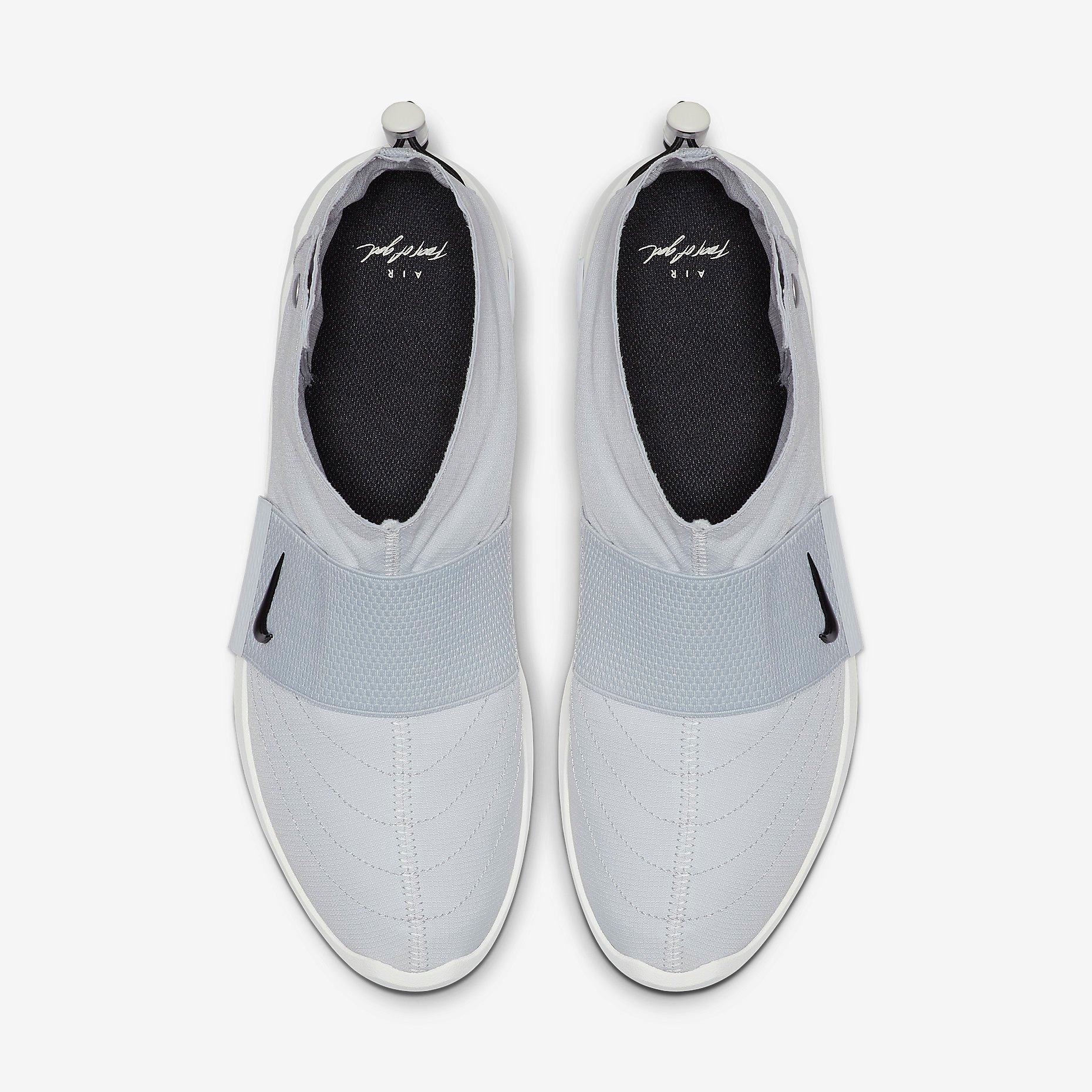 Fear of God x Nike Moccasin Pure Platinum 2