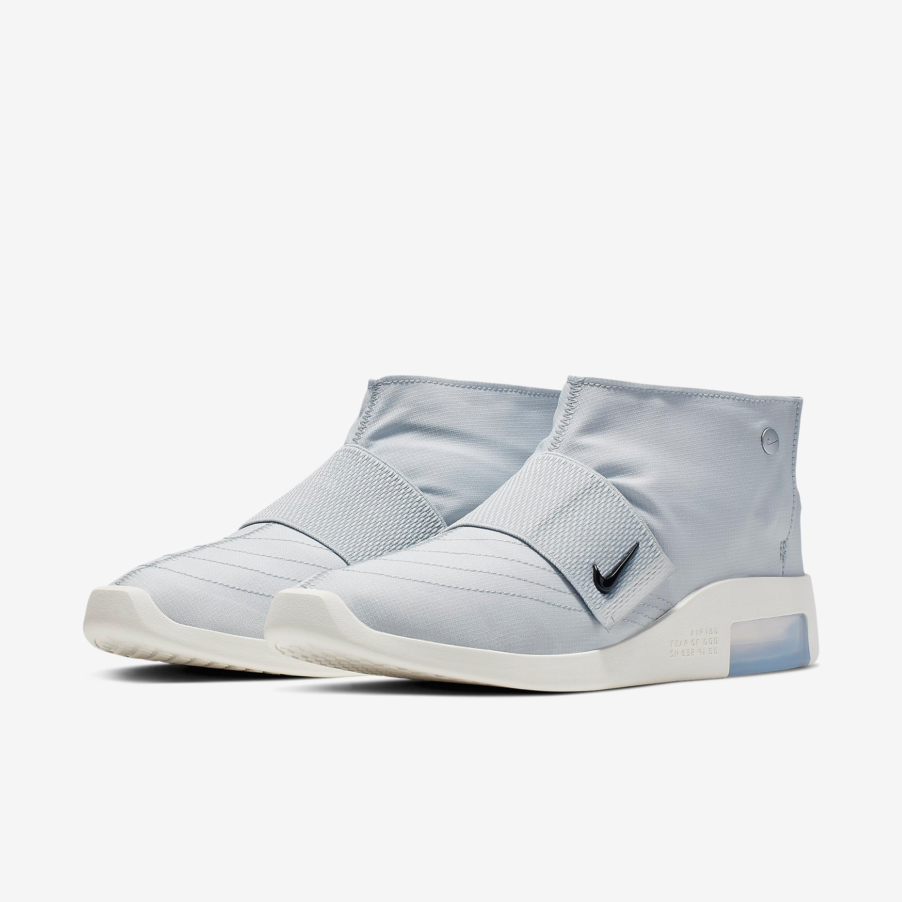 Fear of God x Nike Moccasin Pure Platinum 3