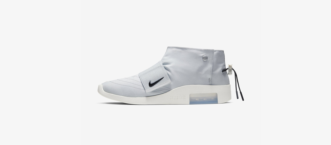 Fear of God x Nike Moccasin Pure Platinum