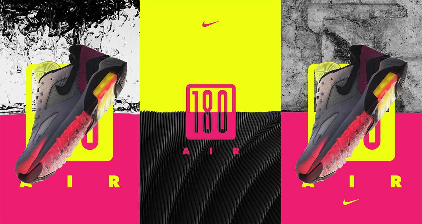 Nike Air Max 180 Hyper Pink 1
