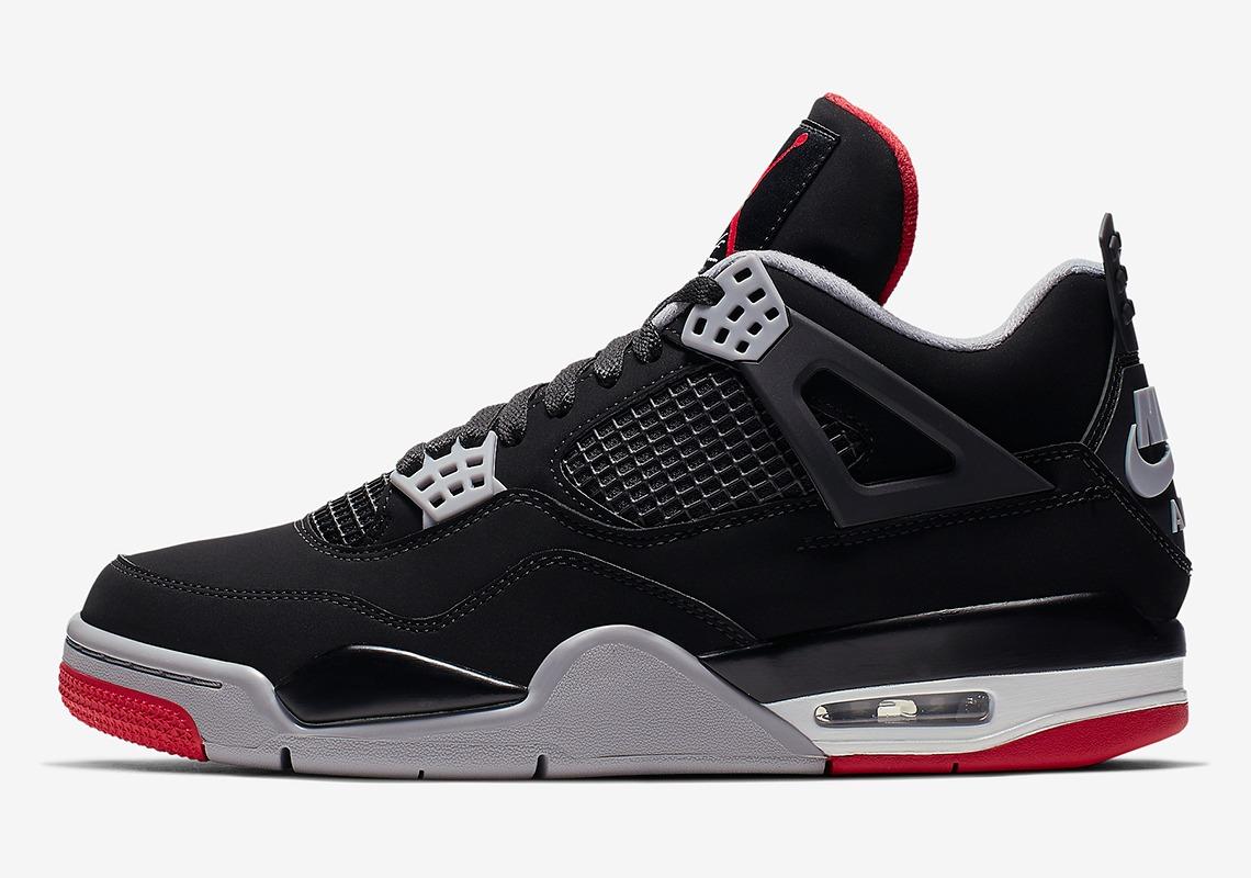 308497 060 Air Jordan 4 Bred 2