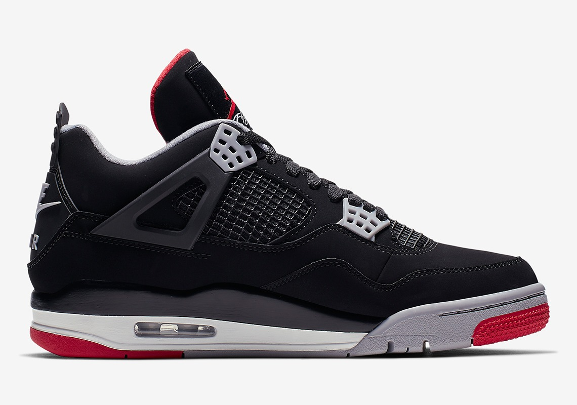 308497 060 Air Jordan 4 Bred 3
