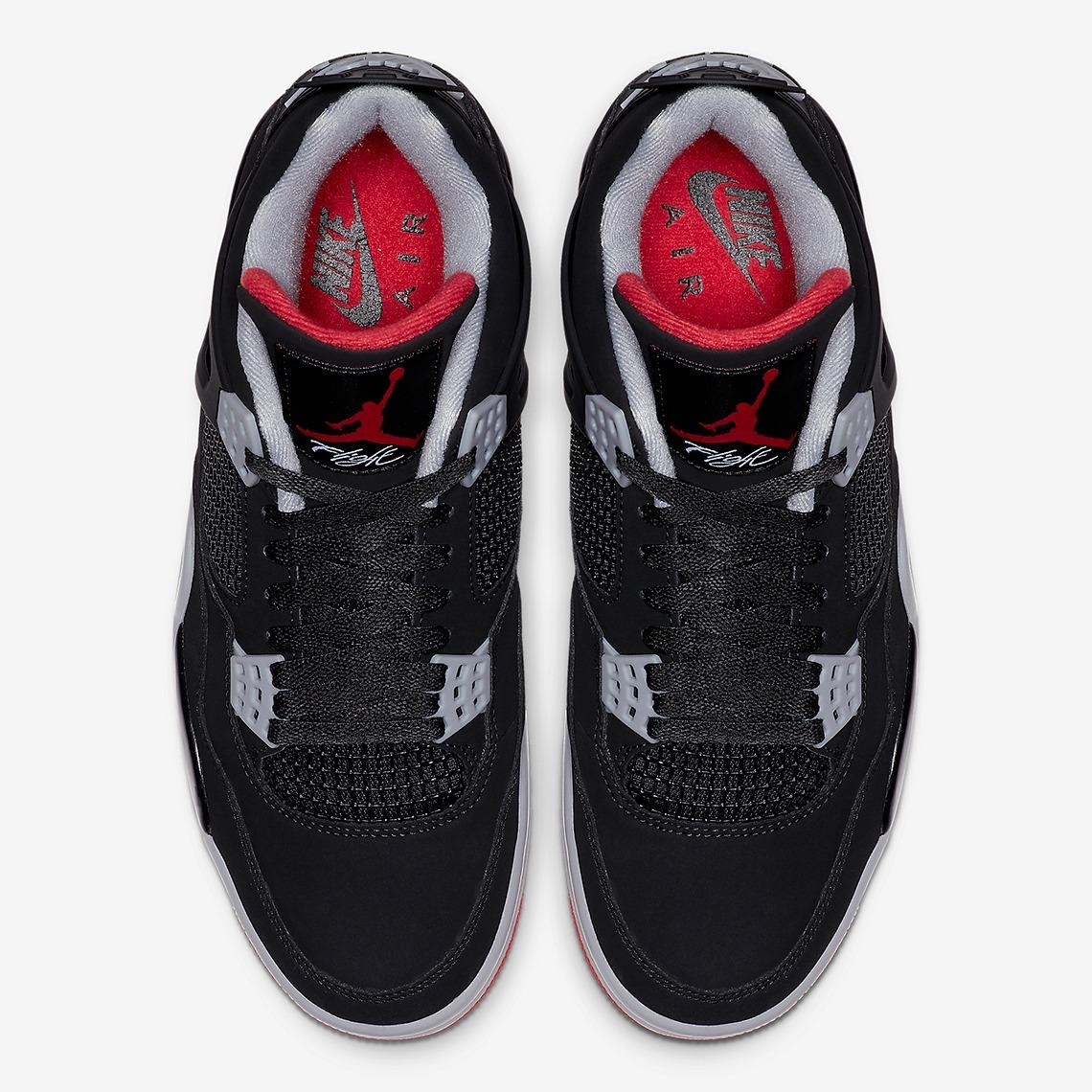 308497 060 Air Jordan 4 Bred 4