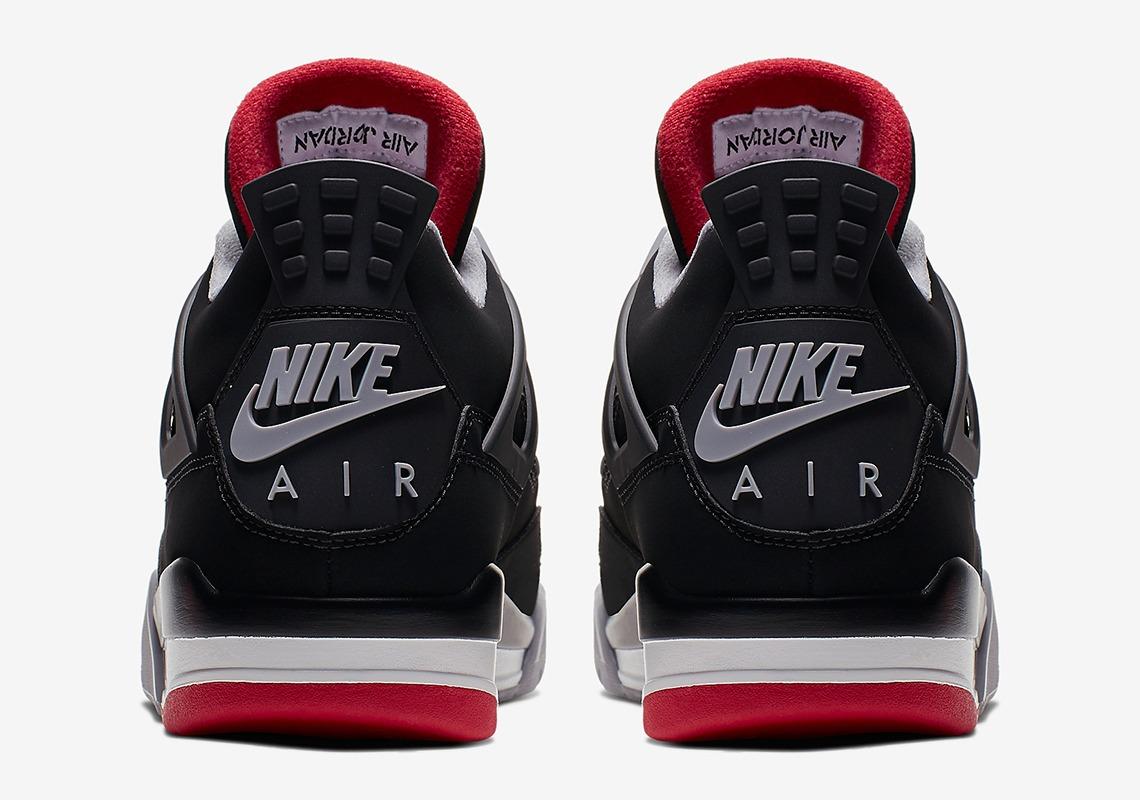 308497 060 Air Jordan 4 Bred 5