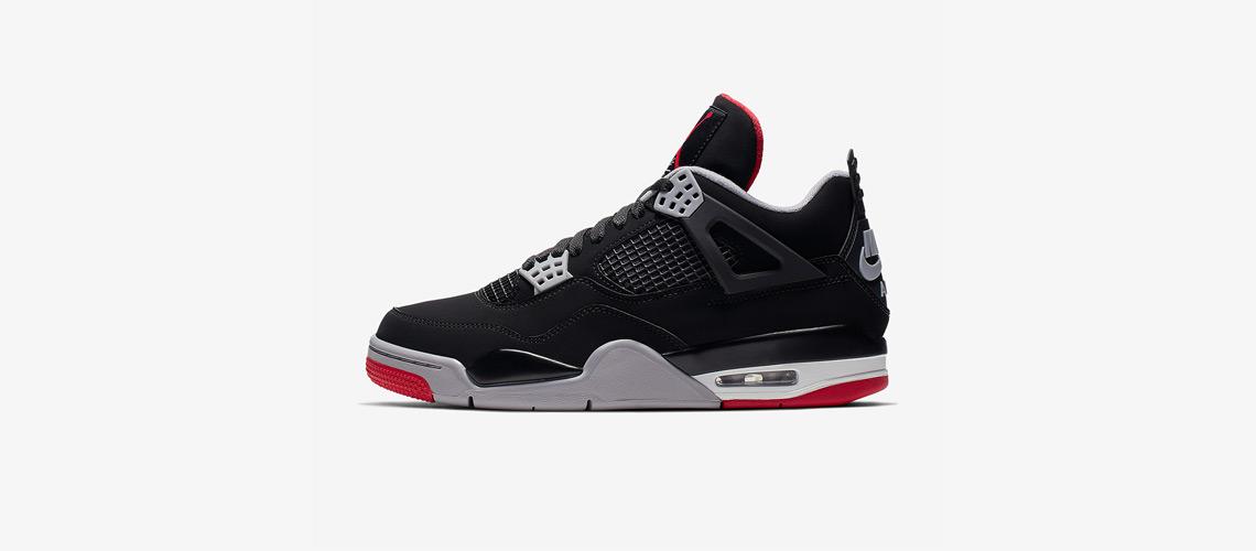 308497 060 Air Jordan 4 Bred