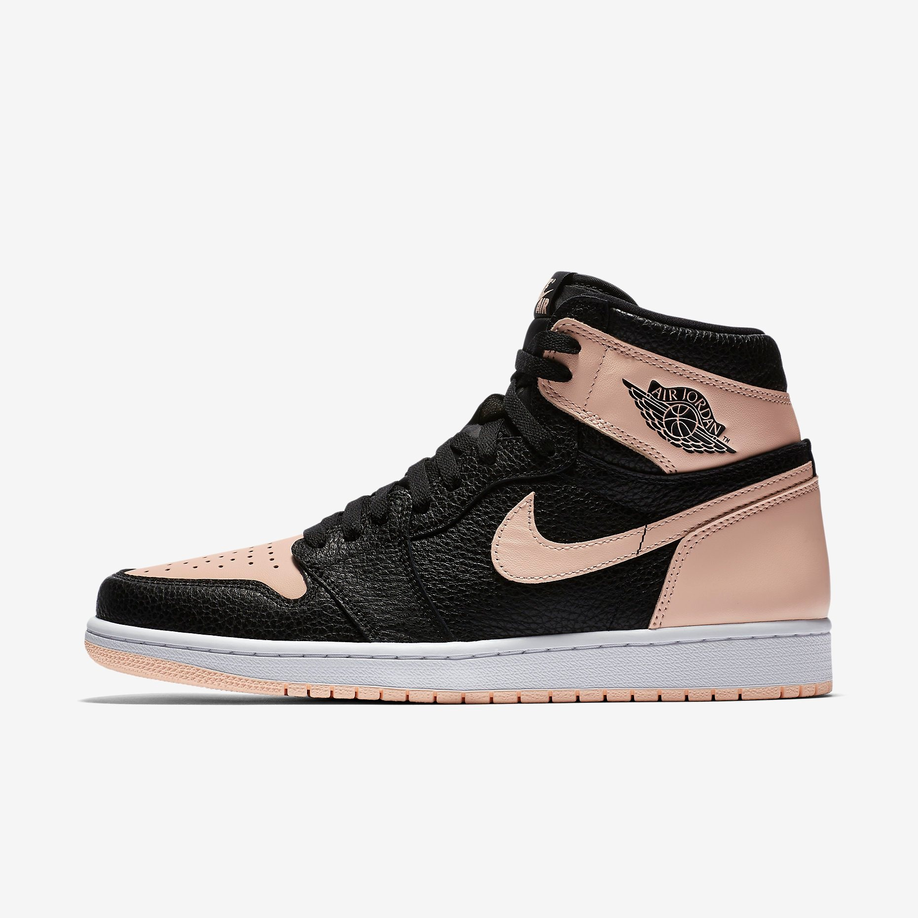 555088 081 Air Jordan 1 Retro High OG Crimson Tint 1