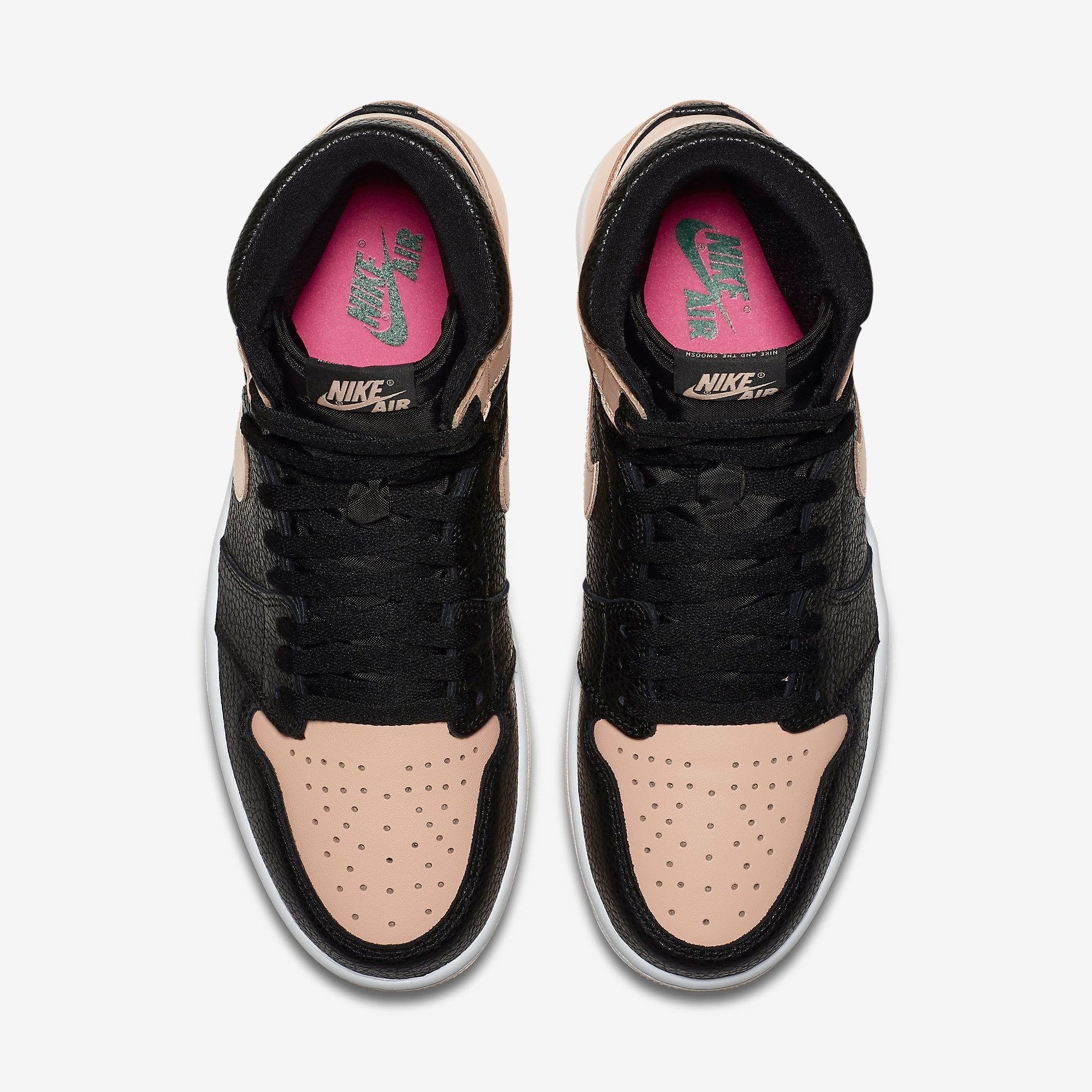 555088 081 Air Jordan 1 Retro High OG Crimson Tint 3