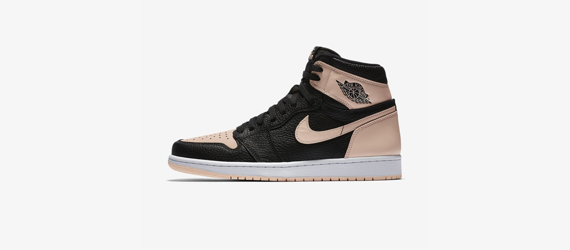 555088 081 Air Jordan 1 Retro High OG Crimson Tint
