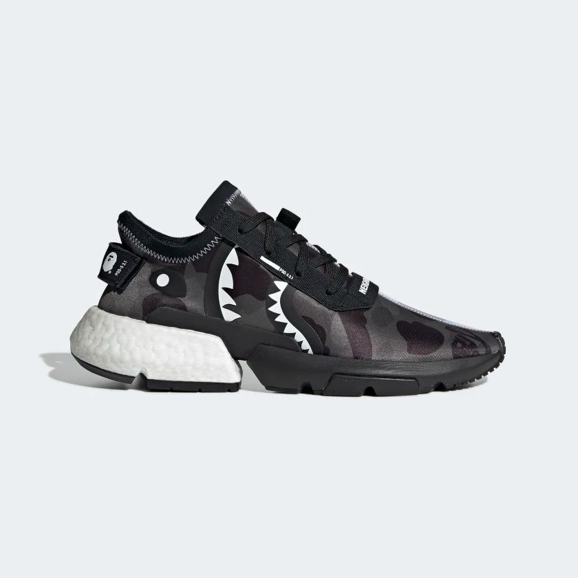 EE9431 NEIGHBORHOOD x BAPE adidas POD S3.1 1