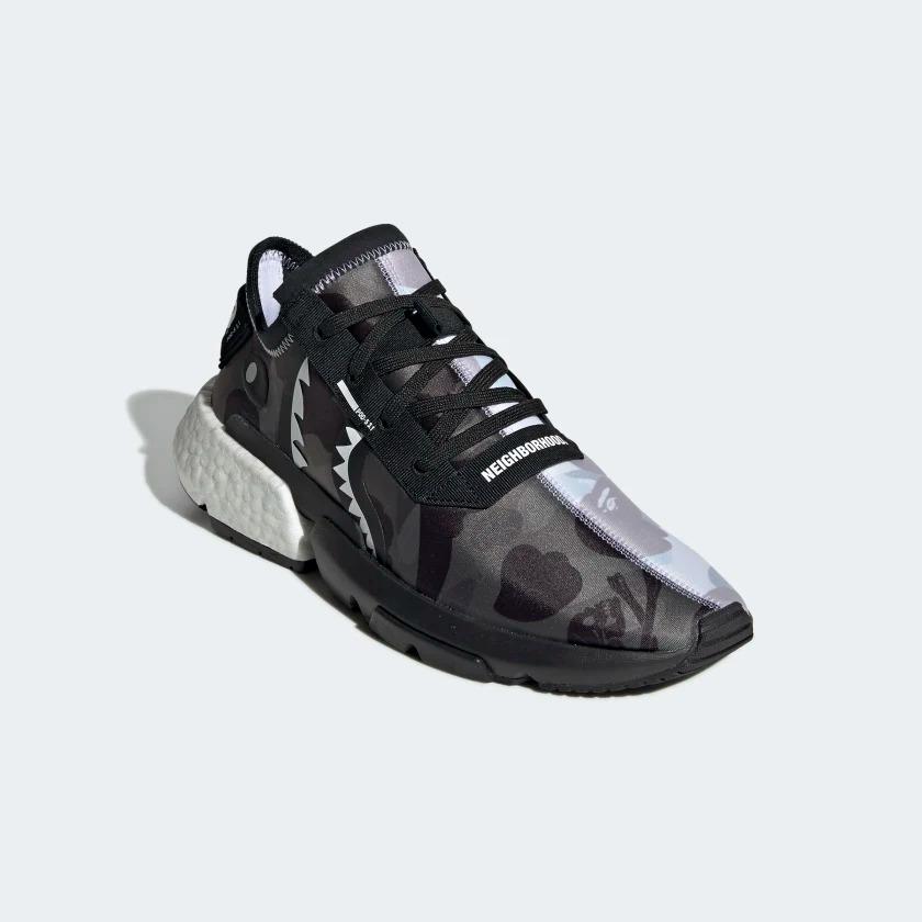 EE9431 NEIGHBORHOOD x BAPE adidas POD S3.1 4