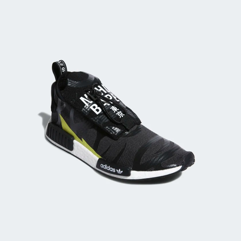 EE9702 NEIGHBORHOOD x BAPE x adidas NMD Stealth 3