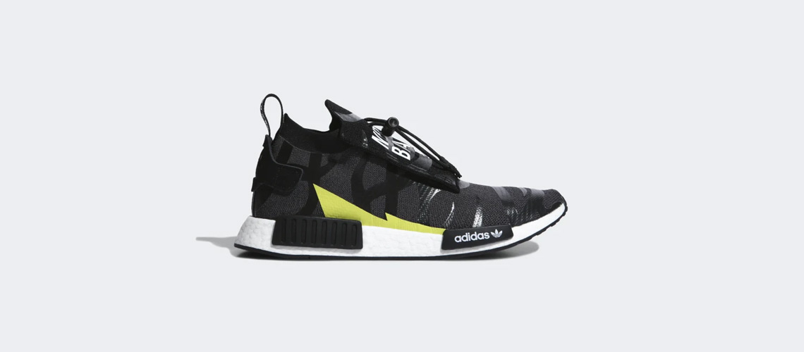 NEIGHBORHOOD x BAPE x adidas NMD – Stealth