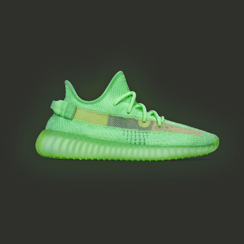 EG5293 adidas Yeezy Boost 350 V2 Glow 1