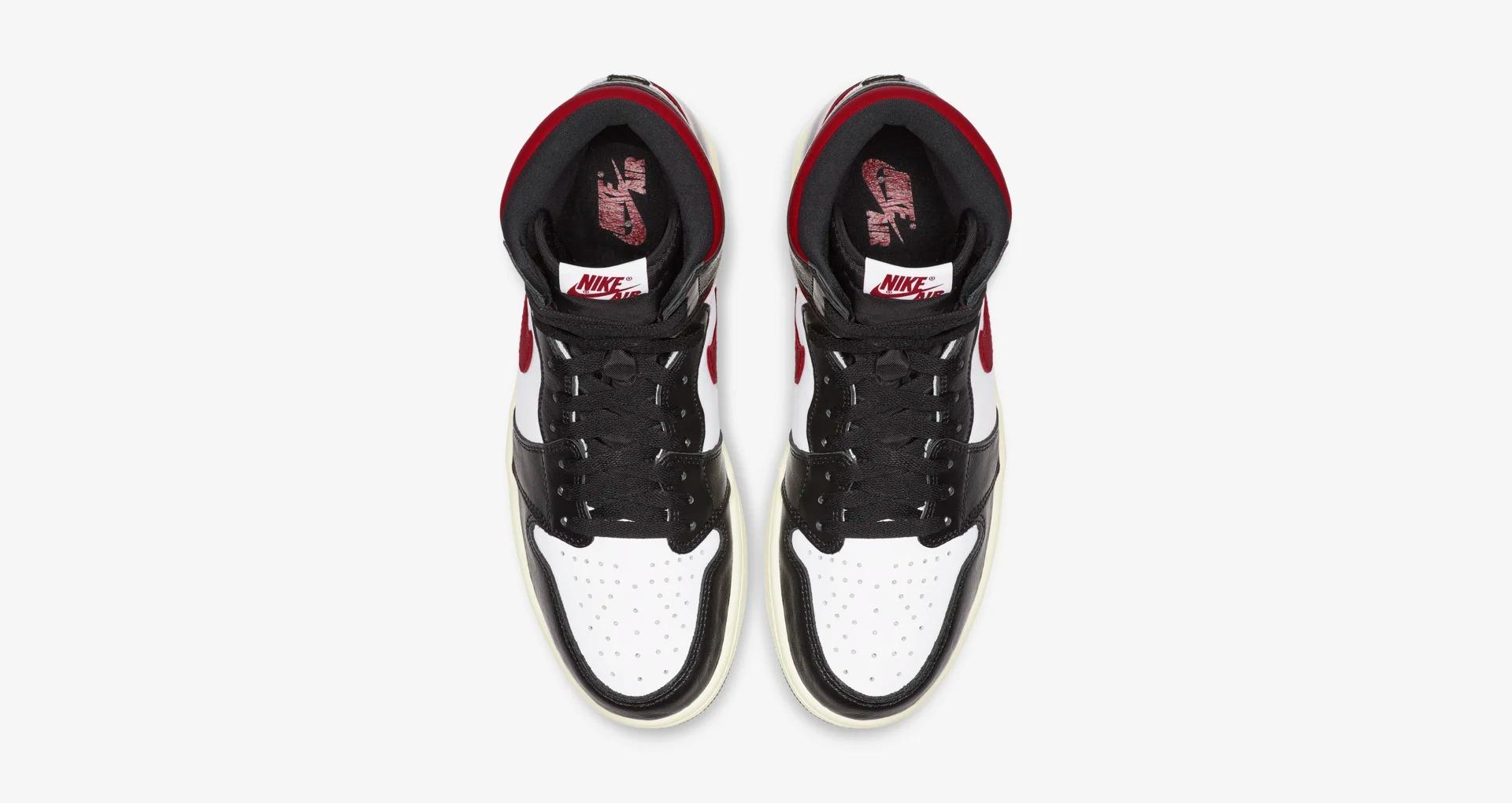 555088 061 Air Jordan 1 High OG Gym Red 3